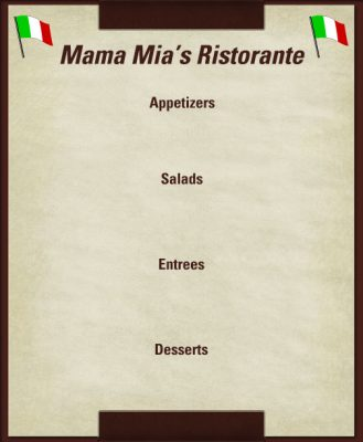 empty-menu